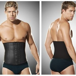 Ann Chery Men's Latex Girdle Body Shaper